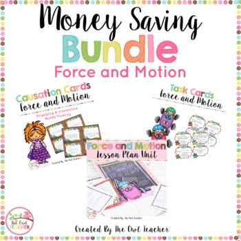 Force and Motion (BUNDLE): Investigating Push, Pull, Magnetism, and Gravity