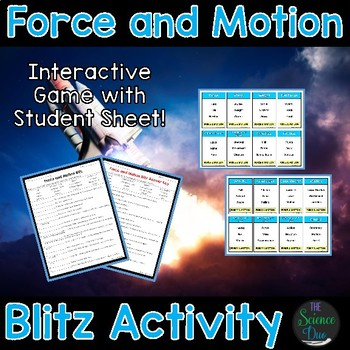 Force and Motion Blitz Activity