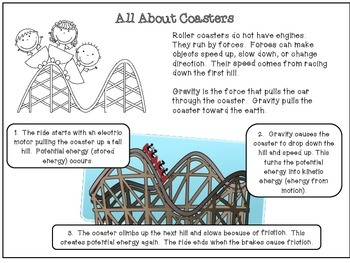 Force and Motion- Build a Roller Coaster