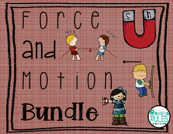 Force and Motion Bundle: Push and Pull/Magnetic Sorting Games