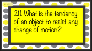 Force and Motion Cards (Around the Room or Task Cards)