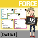 Force and Motion Science Task Cards - Chalk Talk Art in Science