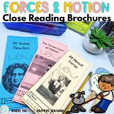 Force and Motion Close Reading Passages with Questions