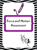 Force and Motion Common Core Post Assessment