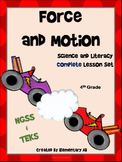 Force and Motion:Complete Lesson Set Bundle (TEKS & NGSS)