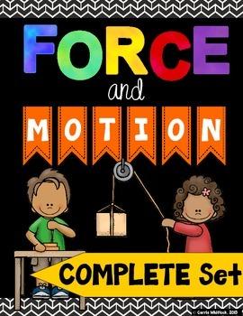 Force and Motion: Complete Set Bundle