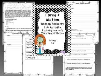 Force and Motion Complete Unit - Forces and Newton's Laws of Motion Bundle