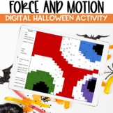Force and Motion DIGITAL Halloween Activity