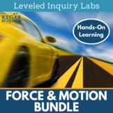 Force and Motion Differentiated Inquiry Labs Bundle