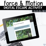 Force and Motion Digital Escape Room