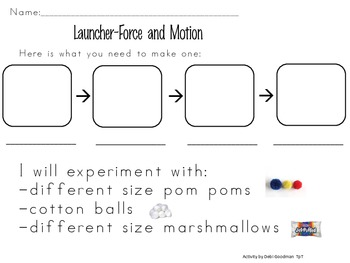 Force and Motion Early Grade Style-Launcher