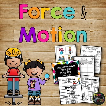 Force and Motion Experiments and Activities {Grades 1, 2, & 3 }
