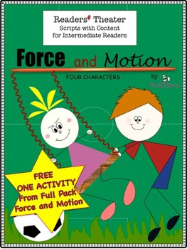 Force and Motion, FREE ONE ACTIVITY from Full Pack