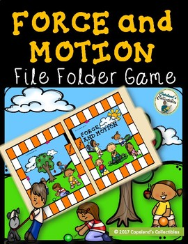 Force and Motion File Folder Game