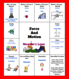 Force and Motion Hyperdoc