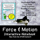 Force and Motion Interactive Notebook - Distance Learning
