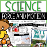 Force and Motion Activities and Interactive Notebook Resources