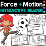 Force and Motion Interactive Reader - Push and Pull, Gravity and Speed