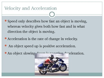 Force and Motion Introduction PowerPoint