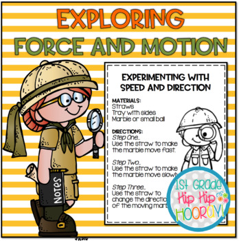 Force and Motion...KDG NGSS...K-PS2-1, K-PS2-2