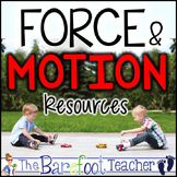 Force and Motion Kindergarten Bundle of Activities (9 Activities Total)