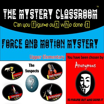 Force and Motion Mystery (Upper Elementary) | The Mystery Classroom