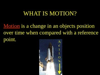 Force and Motion PPT