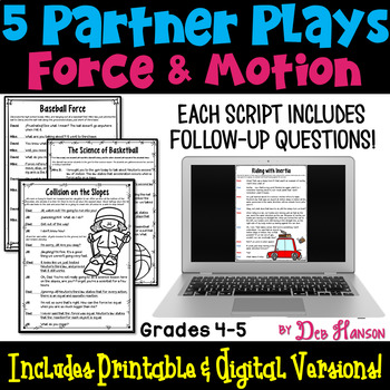 Force and Motion Partner Plays