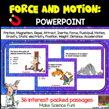 Force and Motion PowerPoint