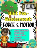 Force and Motion Interactive Notebook Pre-Assessment Warm-ups