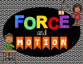 Force and Motion: Digital Presentation ( Distance Learning )