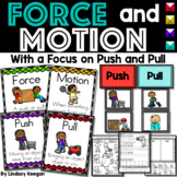 Force and Motion Worksheets - Push and Pull