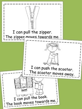 Force and Motion - Push and Pull Emergent Reader
