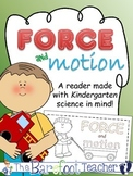 Force and Motion - Push and Pull Emergent Reader (Distance Learning)