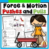 Force and Motion Pushes and Pulls (Books, Experiments, Activities, & Printables)