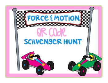 Force and Motion QR Code Scavenger Hunt