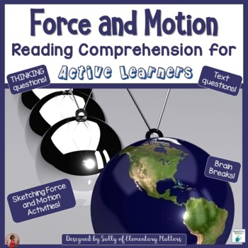 Force and Motion   Reading Comprehension for Active Learners