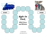 Force and Motion Review Game for Elementary School Students