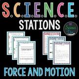 Force and Motion S.C.I.E.N.C.E. Stations Bundle