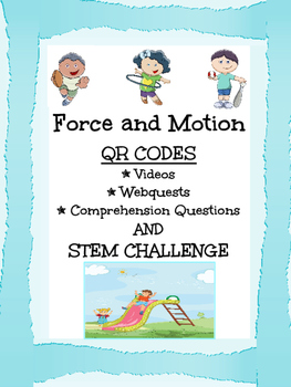 Force and Motion STEM BUNDLE