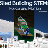 Force and Motion STEM: Sled Building