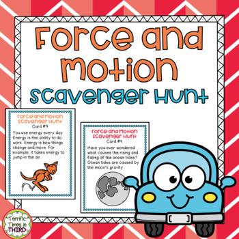 Force and Motion Scavenger Hunt
