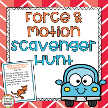 Force and Motion Scavenger Hunt