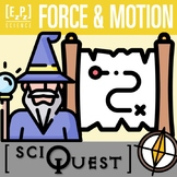 Force and Motion SciQuest Science Scavenger Hunt- Print an