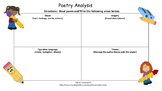 Poetry Analysis Form