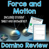 Force and Motion Domino Review