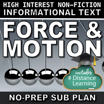 Science Literacy Force and Motion Sub Plan