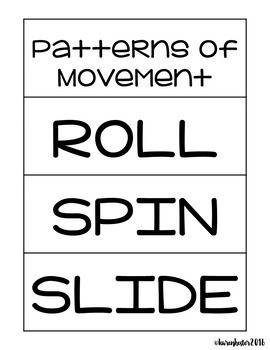 Force and Motion Science Picture Sorts