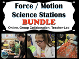 Force and Motion Science Stations Bundle