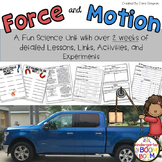 First Grade Force and Motion: Push, Pull, Gravity Unit